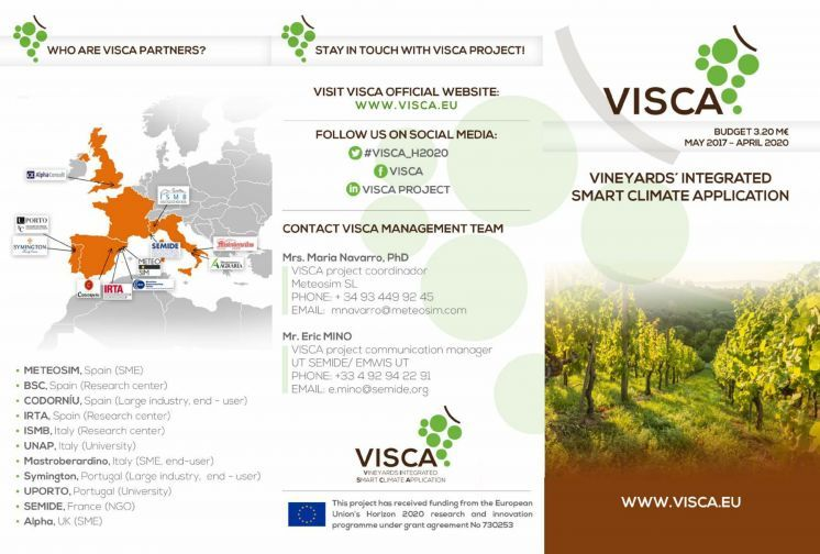 VISCA brochure is out!