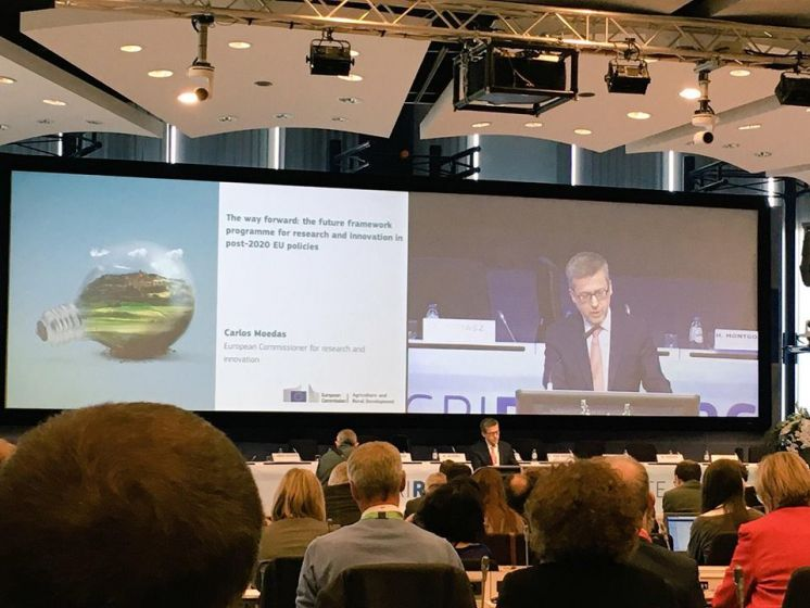 VISCA at the EU AgriResearch Conference