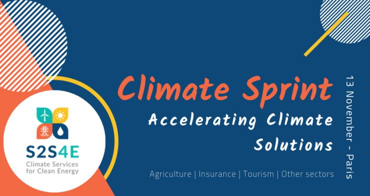 "Innovation camp ""Climate Sprint: Accelerating Climate Solutions"""