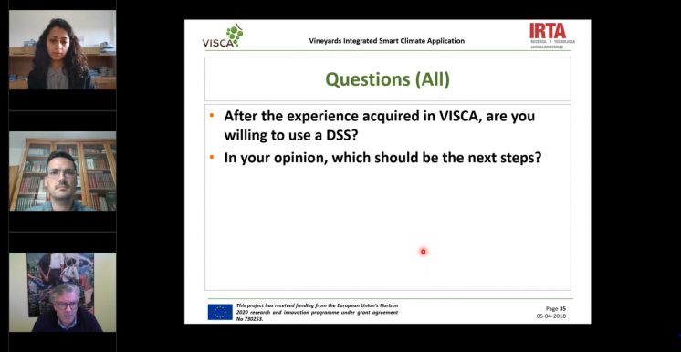 VISCA Final e-Conference and the Way Forward
