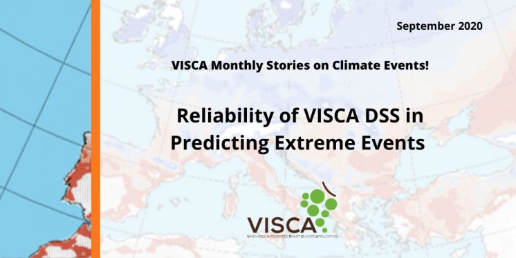 Reliability of VISCA DSS on Predicting Extreme Events