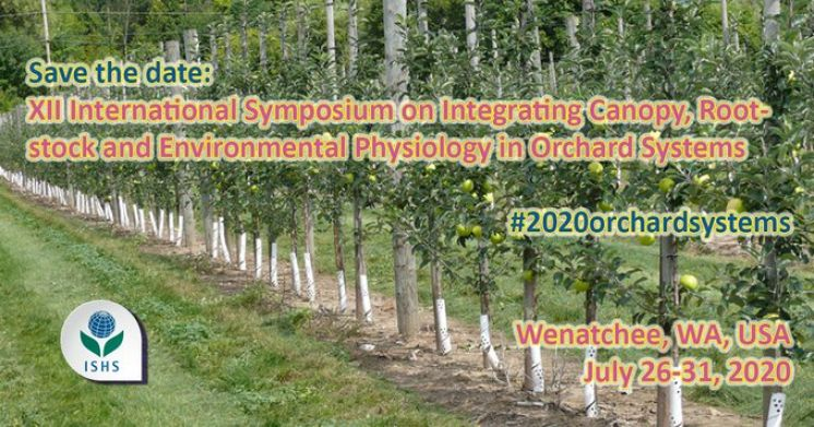XII International Symposium on Integrating Canopy, Rootstock and Environmental Physiology in Orchard Systems - POSTPONED